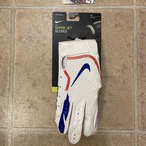 Nike Vapor Jet Football Gloves NFL Buffalo Bills